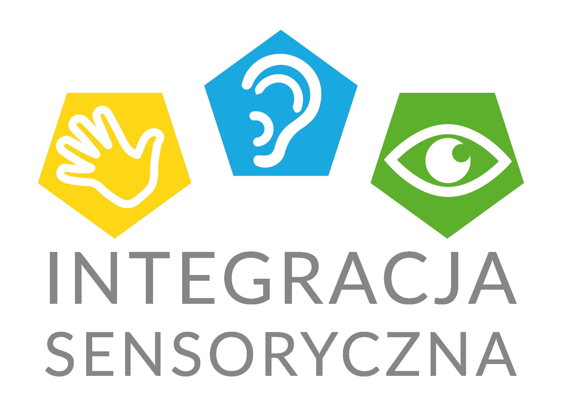 Logo strony internetowej dotyczącej integracji sensorycznej