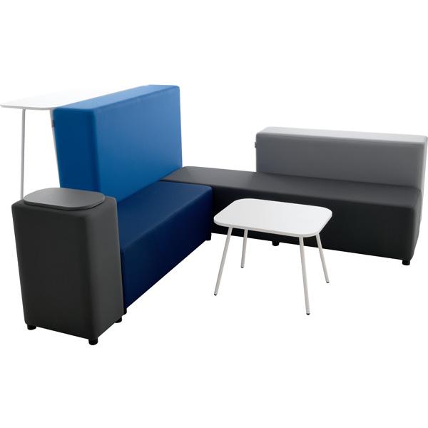 Zestaw siedzisk do przestrzeni wspólnych i bibliotek