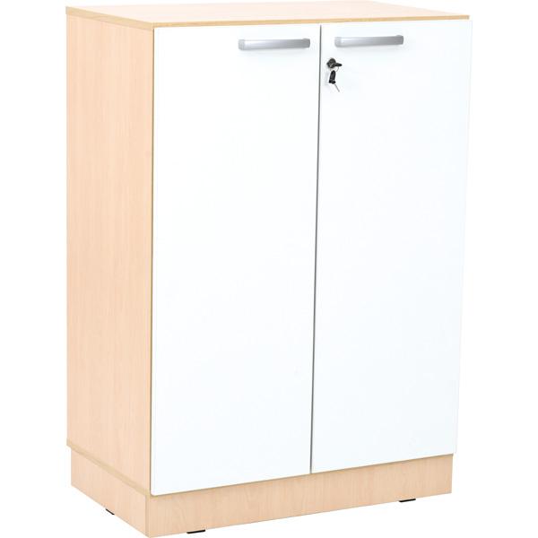 Drzwi do regałów z kolekcji Grande w kolorze białym