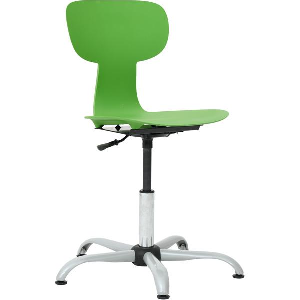 Krzesło obrotowe Ergo z regulacją wysokości do pracowni przyrodniczych