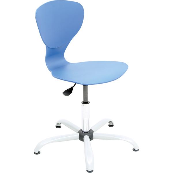 Krzesło Flexi obrotowe z regulacją wysokości do pracowni przedmiotowych