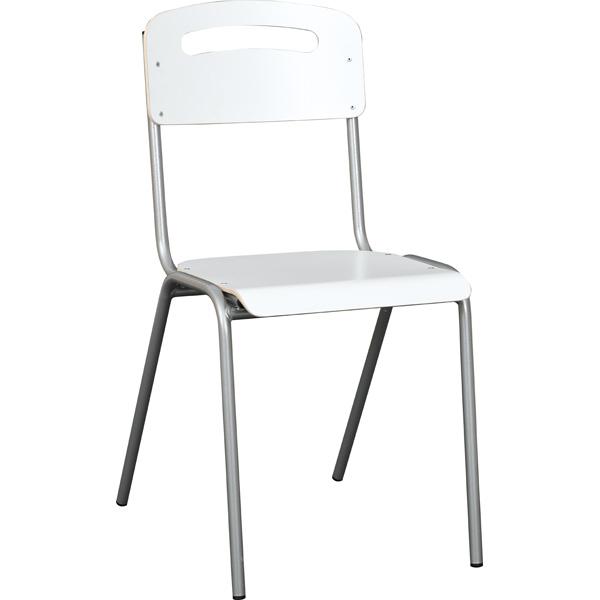 Odporne na zabrudzenia i wilgoć krzesło H do pracowni przedmiotowych